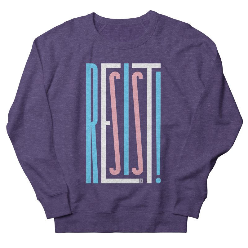 RESIST! (Transgender version) Men's Sweatshirt by michaeljhildebrand's Artist Shop