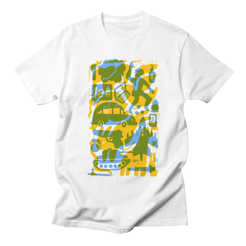 Modern Times (Flourish) Men's T-Shirt by michaeljhildebrand's Artist Shop