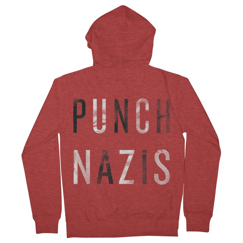 PUNCH... Men's Zip-Up Hoody by michaeljhildebrand's Artist Shop