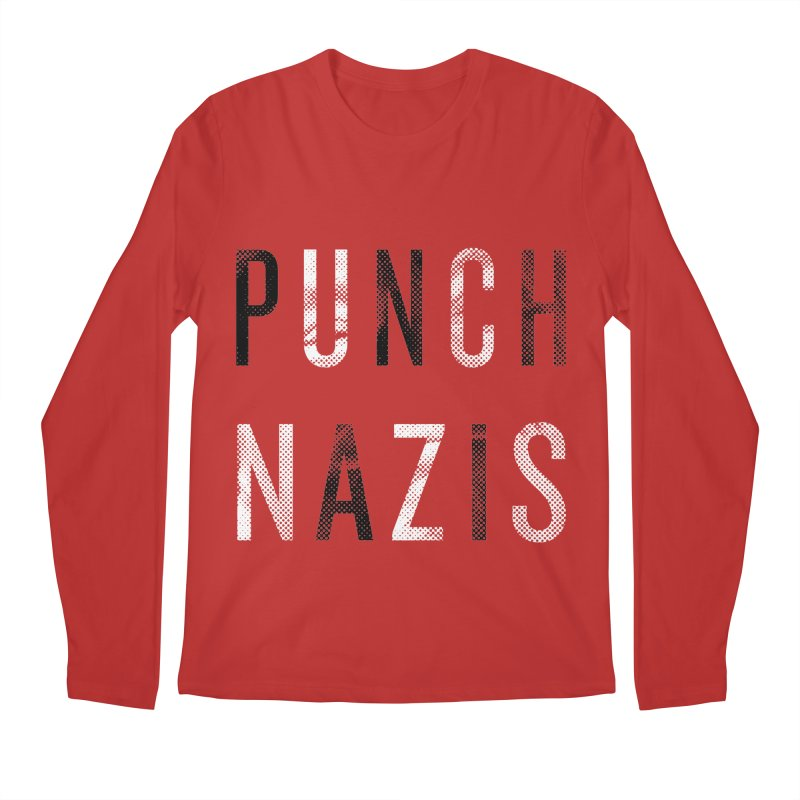 PUNCH... Men's Longsleeve T-Shirt by michaeljhildebrand's Artist Shop