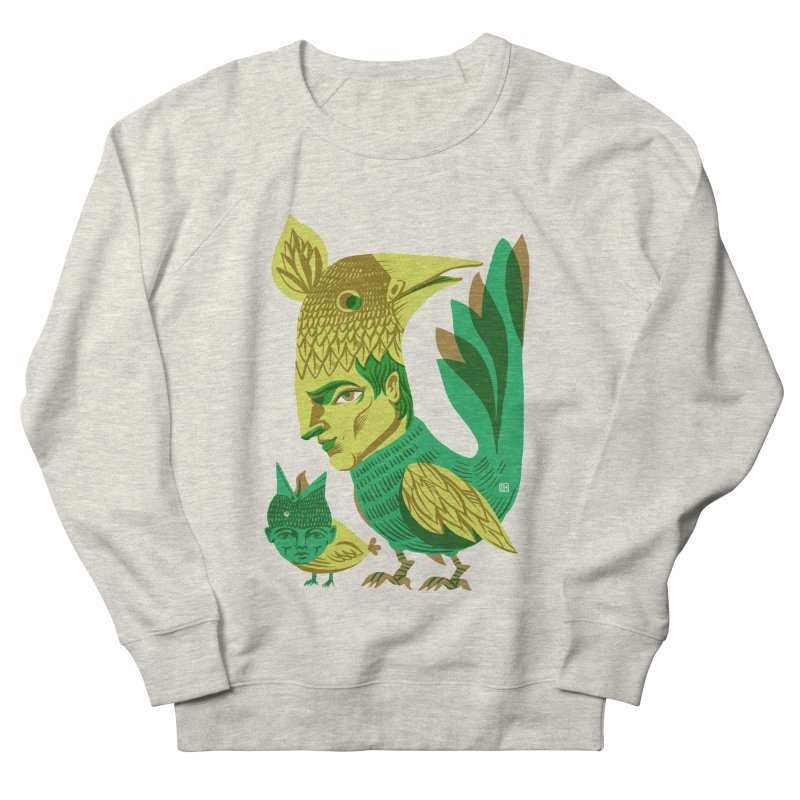 Bird Face Mouth Men's Sweatshirt by michaeljhildebrand's Artist Shop