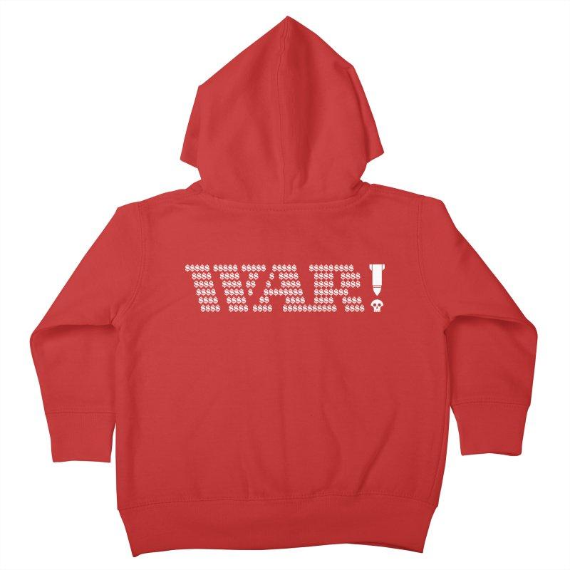 $WAR!$ Kids Toddler Zip-Up Hoody by michaeljhildebrand's Artist Shop