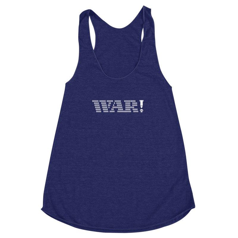 $WAR!$ Women's Racerback Triblend Tank by michaeljhildebrand's Artist Shop