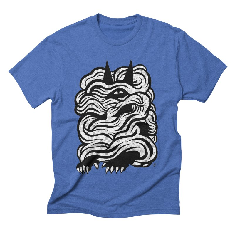 Mysterious Men's Triblend T-shirt by michaeljhildebrand's Artist Shop