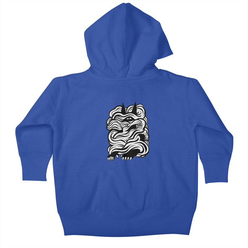 Mysterious Kids Baby Zip-Up Hoody by michaeljhildebrand's Artist Shop