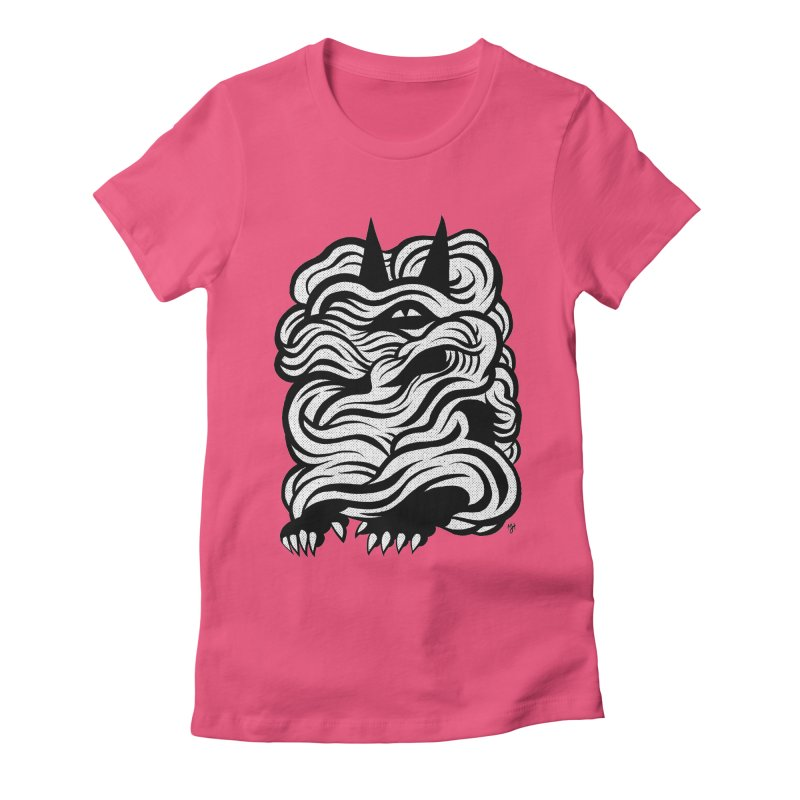 Mysterious Women's Fitted T-Shirt by michaeljhildebrand's Artist Shop