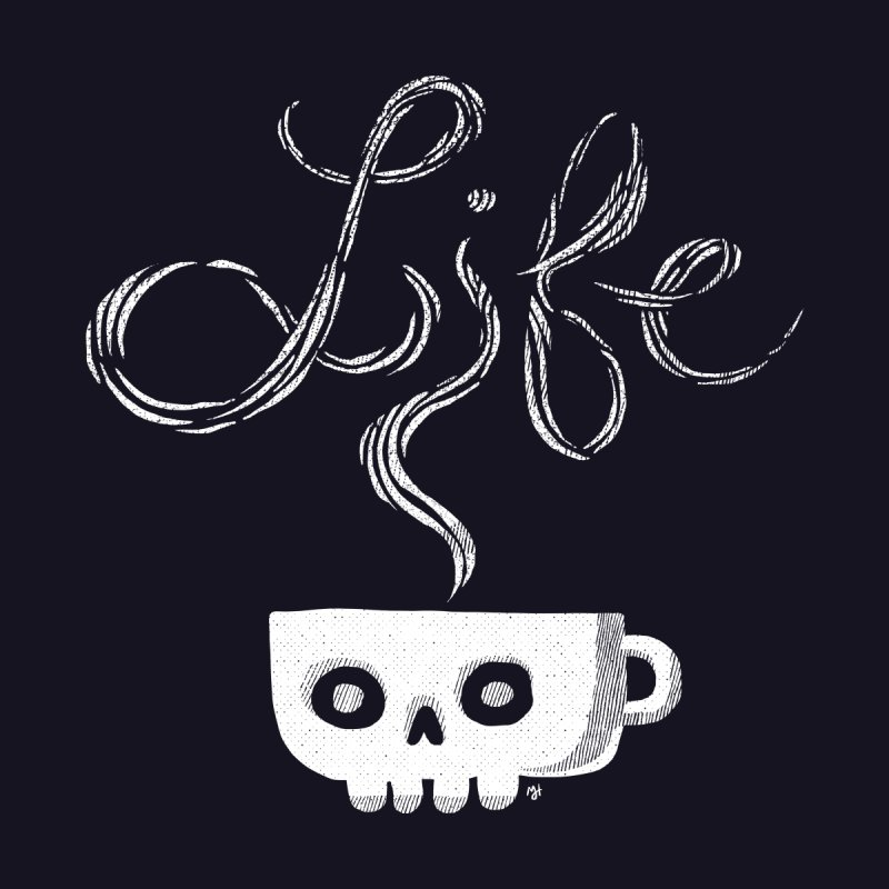 Coffee is Life Men's Classic T-Shirt by michaeljhildebrand's Artist Shop
