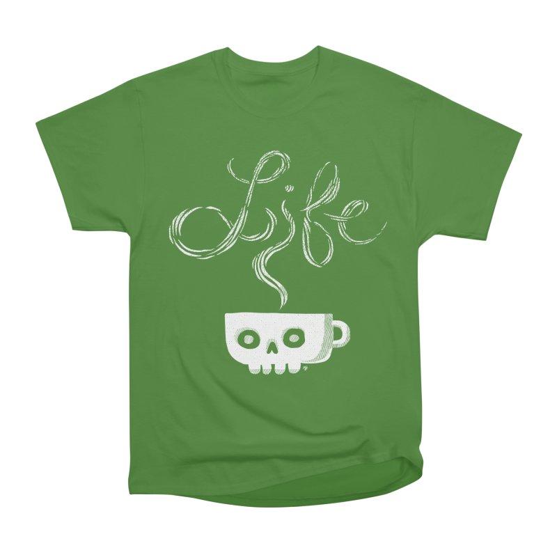 Coffee is Life Men's Classic T-Shirt by michaeljhildebrand's Artist Shop