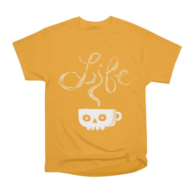 Coffee is Life Women's Classic Unisex T-Shirt by michaeljhildebrand's Artist Shop