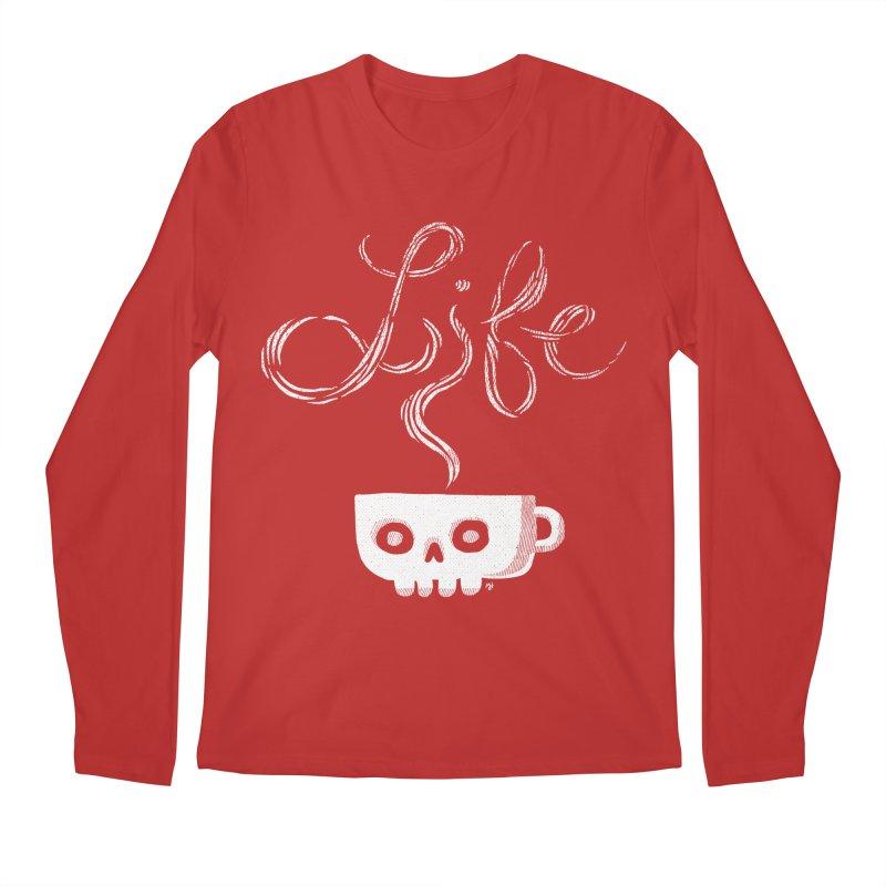 Coffee is Life Men's Longsleeve T-Shirt by michaeljhildebrand's Artist Shop