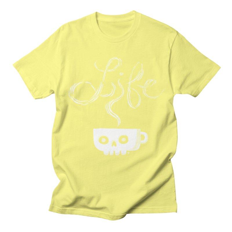 Coffee is Life Men's T-shirt by michaeljhildebrand's Artist Shop