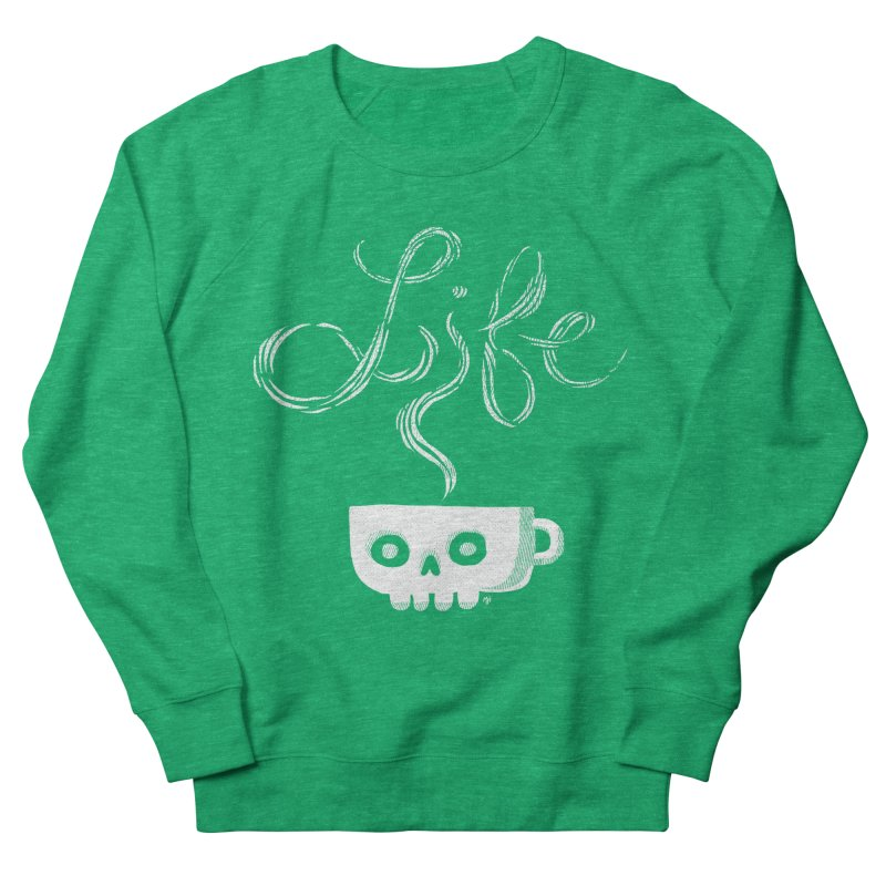 Coffee is Life Men's Sweatshirt by michaeljhildebrand's Artist Shop