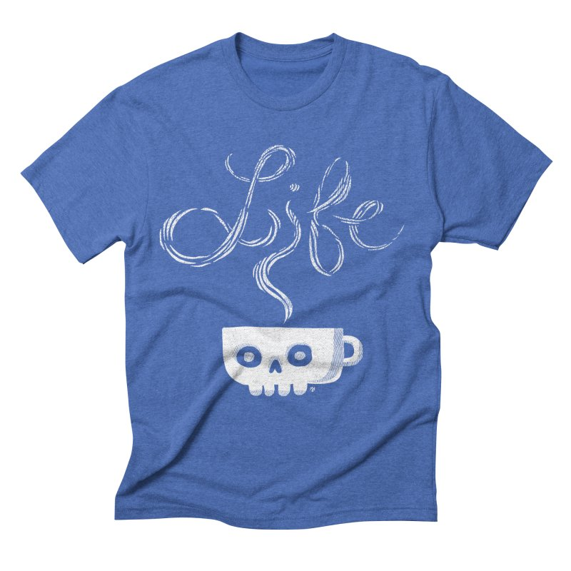 Coffee is Life Men's Triblend T-shirt by michaeljhildebrand's Artist Shop