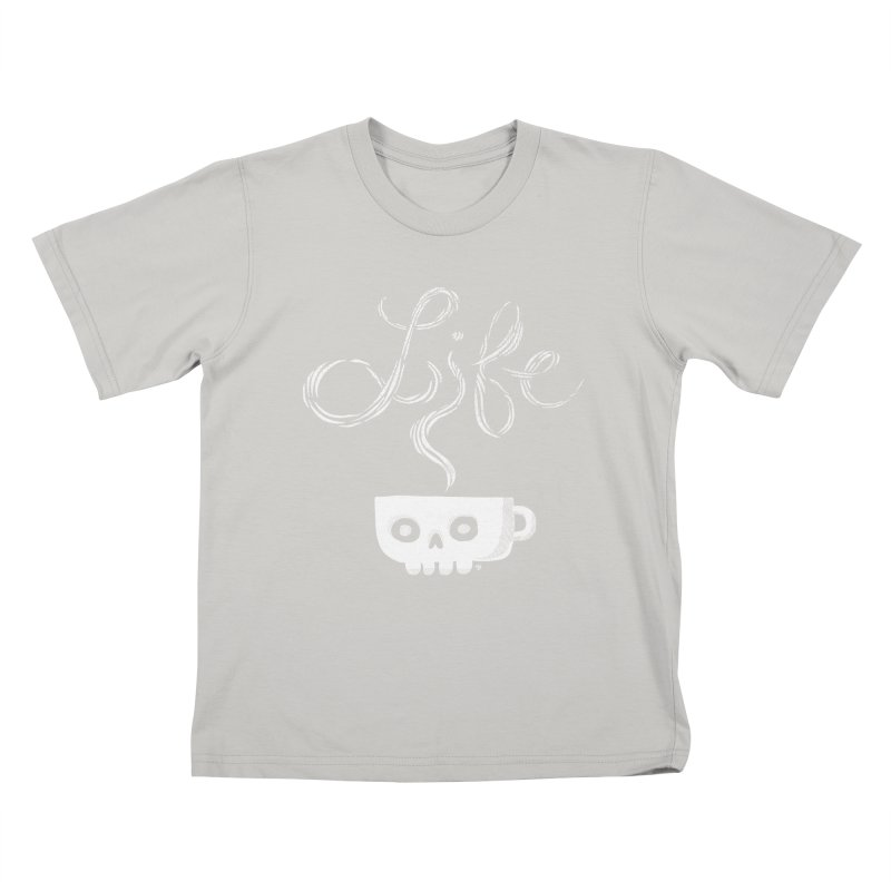 Coffee is Life Kids T-Shirt by michaeljhildebrand's Artist Shop