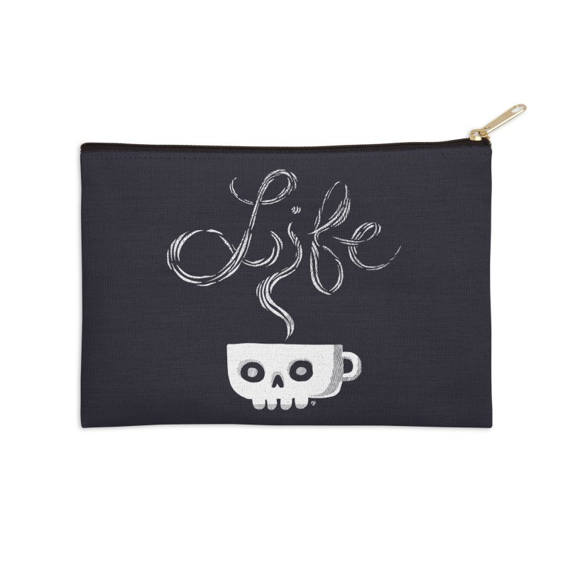 Coffee is Life Accessories Zip Pouch by michaeljhildebrand's Artist Shop