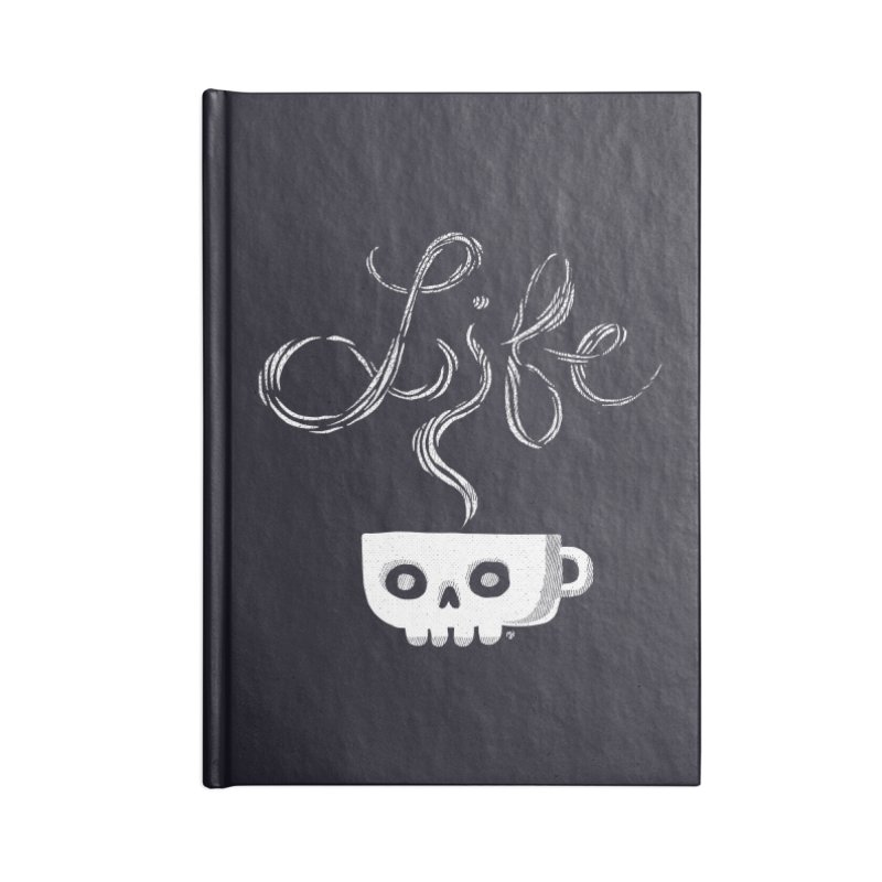 Coffee is Life Accessories Notebook by michaeljhildebrand's Artist Shop