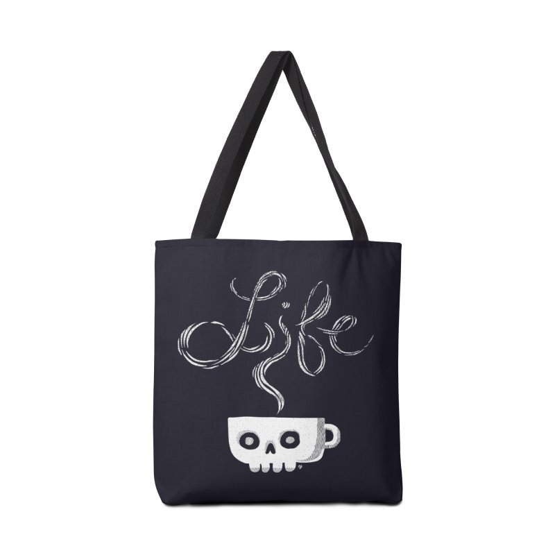Coffee is Life Accessories Bag by michaeljhildebrand's Artist Shop