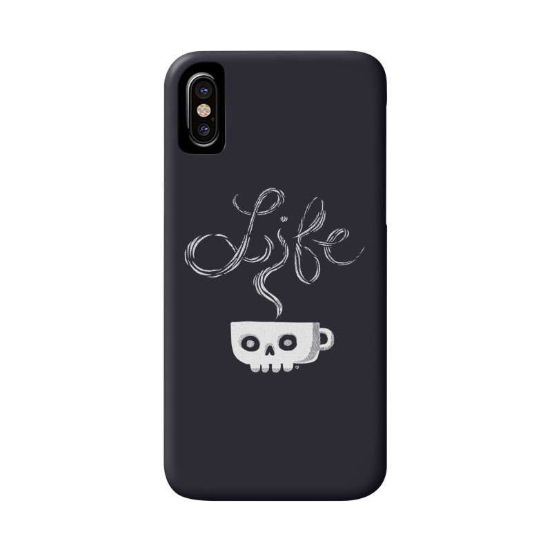 Coffee is Life Accessories Phone Case by michaeljhildebrand's Artist Shop