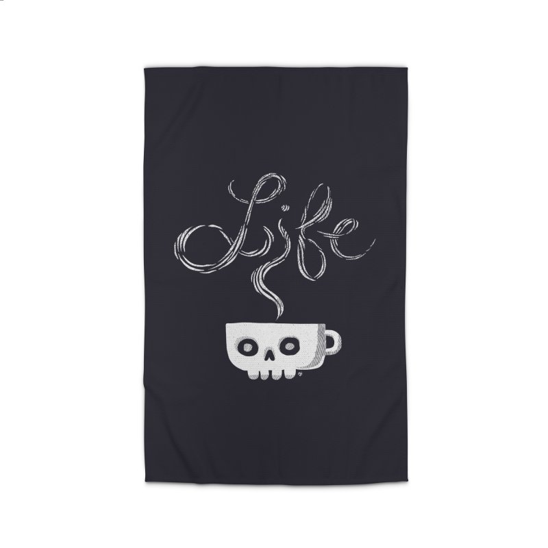 Coffee is Life Home Rug by michaeljhildebrand's Artist Shop