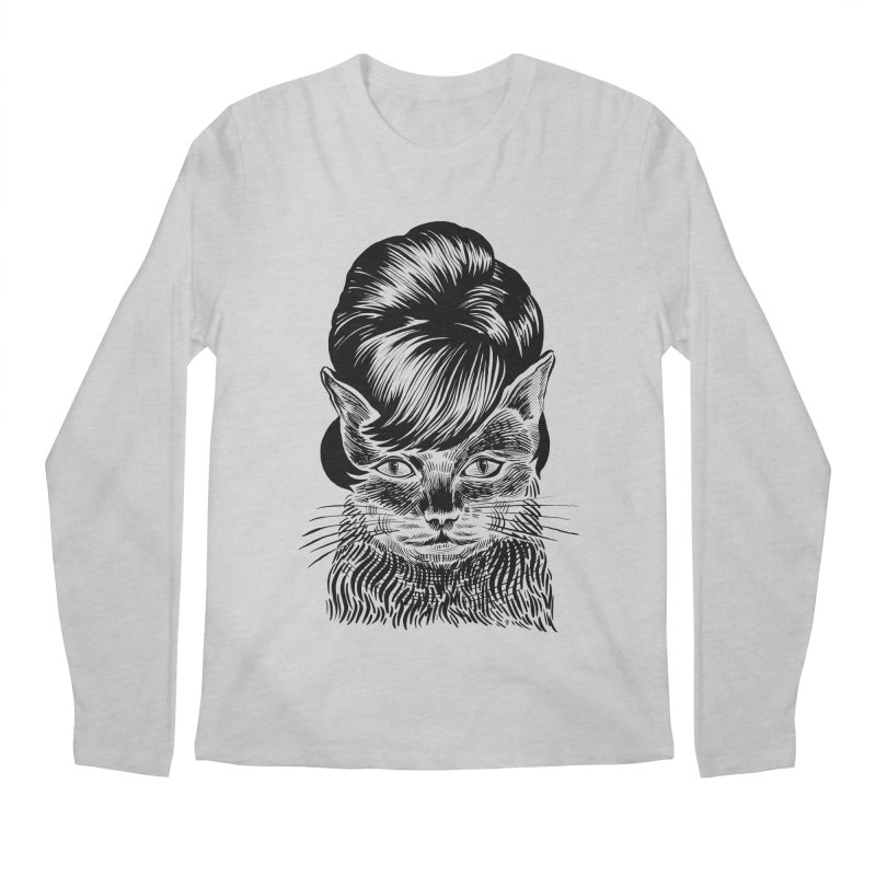 Fierce Pussy Men's Longsleeve T-Shirt by michaeljhildebrand's Artist Shop