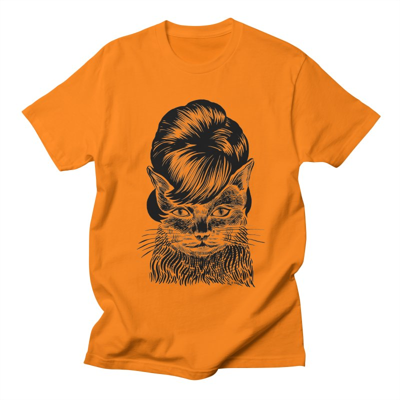Fierce Pussy Men's T-Shirt by michaeljhildebrand's Artist Shop