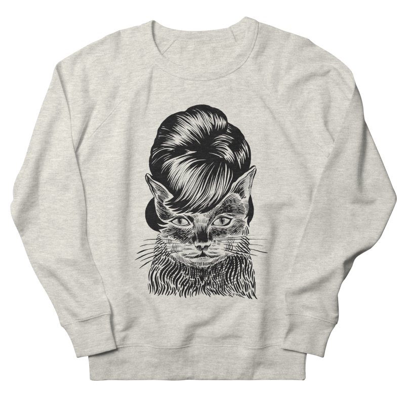 Fierce Pussy Men's Sweatshirt by michaeljhildebrand's Artist Shop