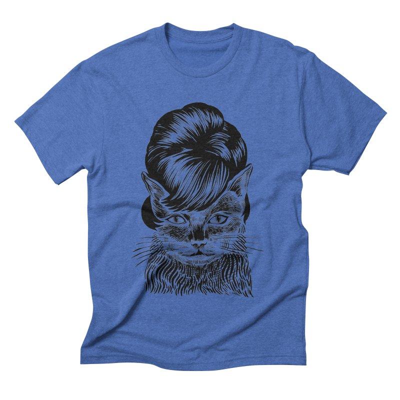 Fierce Pussy Men's Triblend T-Shirt by michaeljhildebrand's Artist Shop