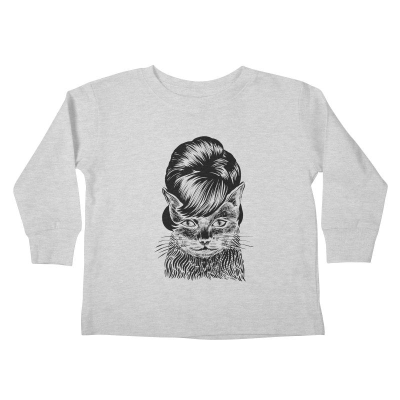 Fierce Pussy Kids Toddler Longsleeve T-Shirt by michaeljhildebrand's Artist Shop