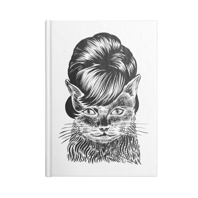 Fierce Pussy Accessories Notebook by michaeljhildebrand's Artist Shop
