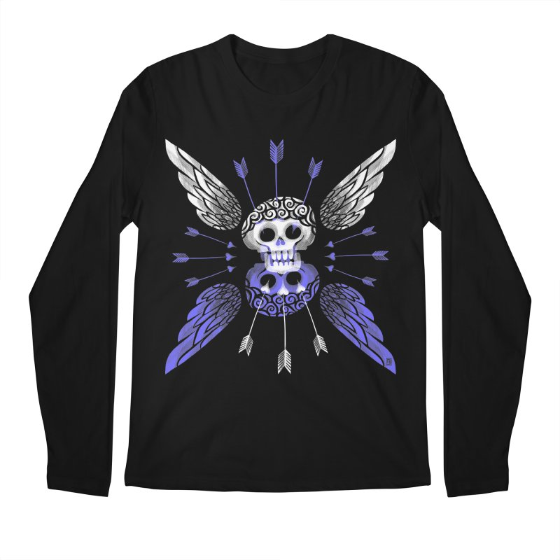 Unvalentine's (Cupid Bones) Men's Regular Longsleeve T-Shirt by michaeljhildebrand's Artist Shop