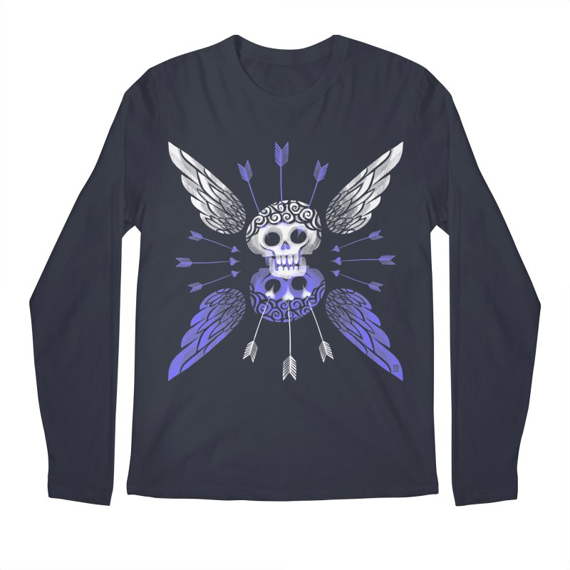 Unvalentine's (Cupid Bones) Men's Longsleeve T-Shirt by michaeljhildebrand's Artist Shop