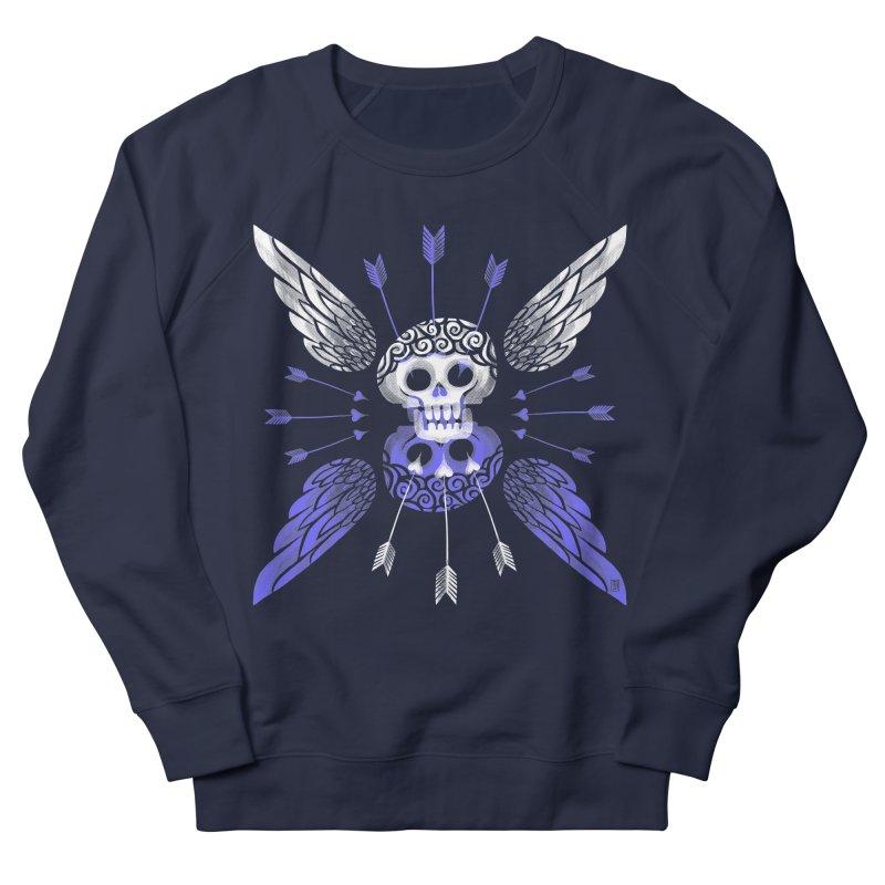 Unvalentine's (Cupid Bones) Women's French Terry Sweatshirt by Michael J Hildebrand's Artist Shop