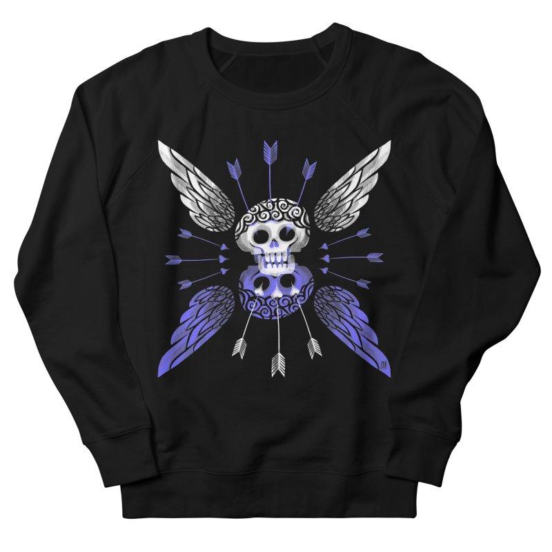 Unvalentine's (Cupid Bones) Men's French Terry Sweatshirt by Michael J Hildebrand's Artist Shop