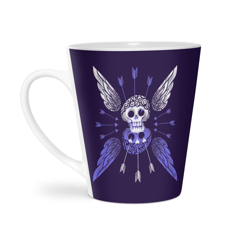 Unvalentine's (Cupid Bones) Accessories Latte Mug by Michael J Hildebrand's Artist Shop
