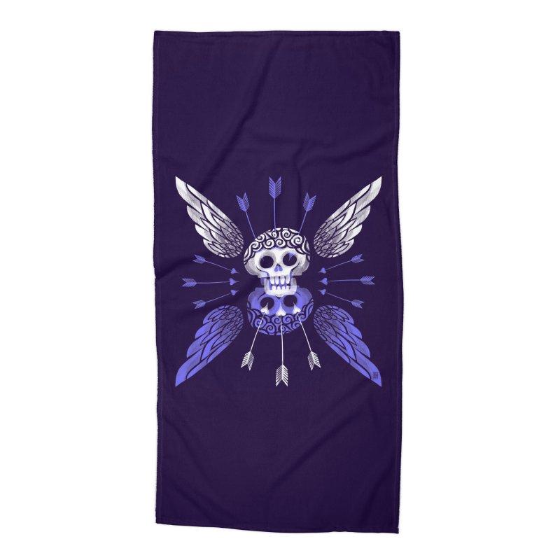 Unvalentine's (Cupid Bones) Accessories Beach Towel by michaeljhildebrand's Artist Shop