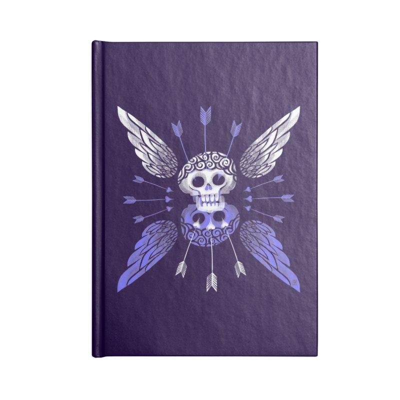 Unvalentine's (Cupid Bones) Accessories Notebook by michaeljhildebrand's Artist Shop