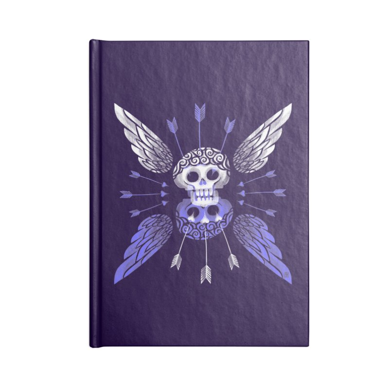 Unvalentine's (Cupid Bones) Accessories Notebook by michaeljhildebrand's Artist Shop