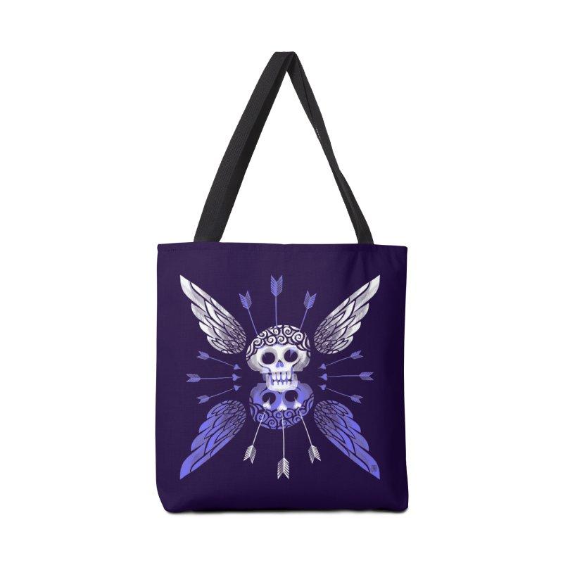 Unvalentine's (Cupid Bones) Accessories Bag by michaeljhildebrand's Artist Shop