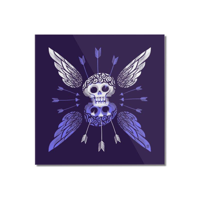 Unvalentine's (Cupid Bones) Home Mounted Acrylic Print by michaeljhildebrand's Artist Shop