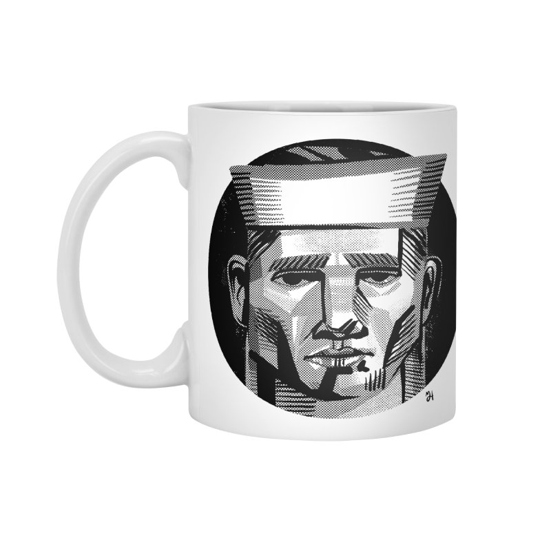 Sailor in the Wild (night version) Accessories Mug by Michael J Hildebrand's Artist Shop