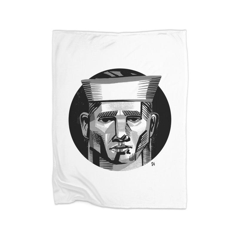 Sailor in the Wild (night version) Home Blanket by michaeljhildebrand's Artist Shop