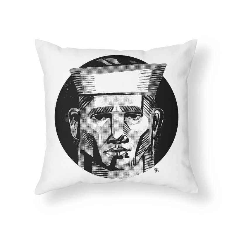 Sailor in the Wild (night version) Home Throw Pillow by michaeljhildebrand's Artist Shop