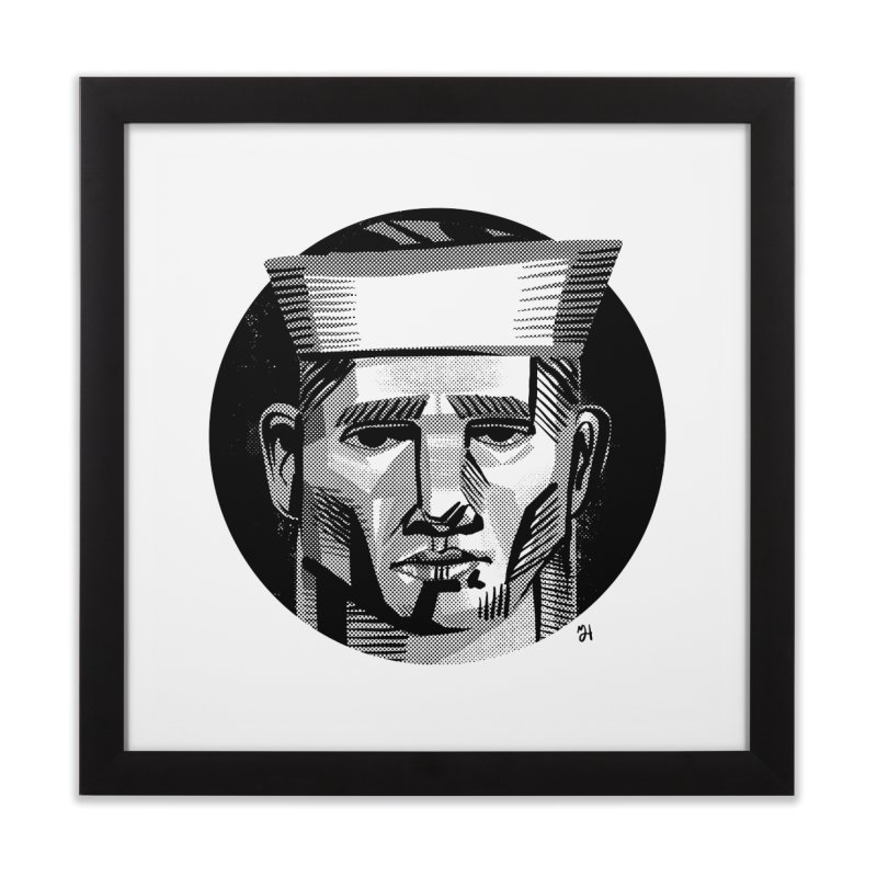 Sailor in the Wild (night version) Home Framed Fine Art Print by michaeljhildebrand's Artist Shop