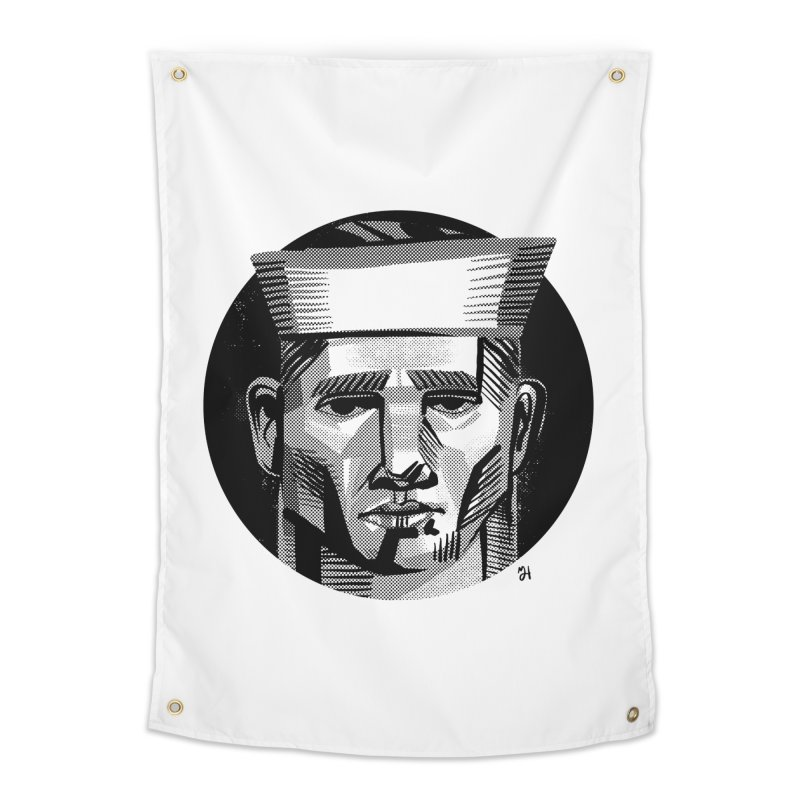Sailor in the Wild (night version) Home Tapestry by Michael J Hildebrand's Artist Shop