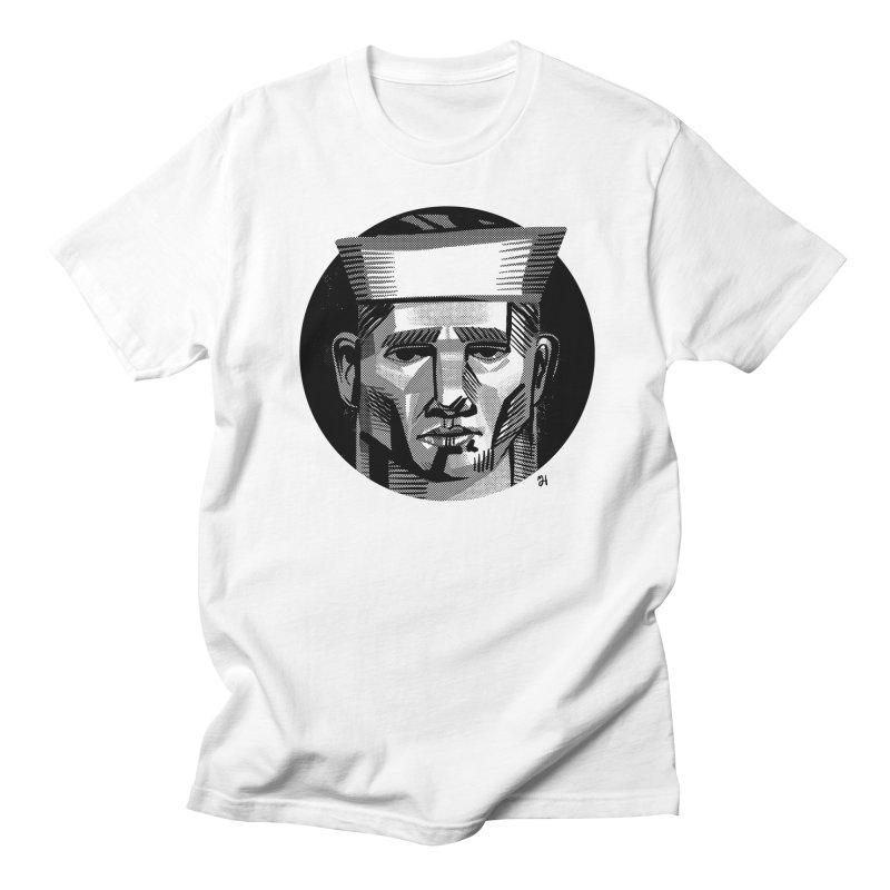 Sailor in the Wild (night version) Men's T-Shirt by michaeljhildebrand's Artist Shop
