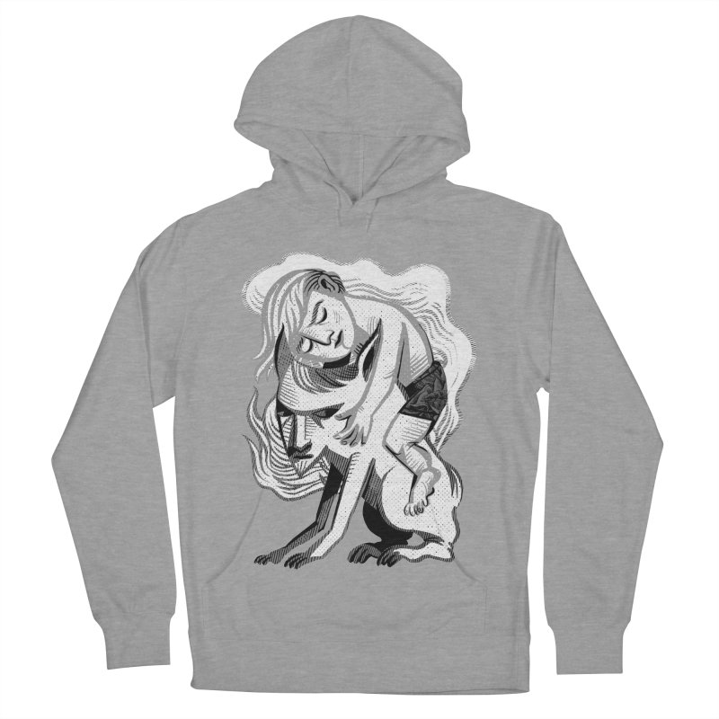 Hug Women's French Terry Pullover Hoody by Michael J Hildebrand's Artist Shop