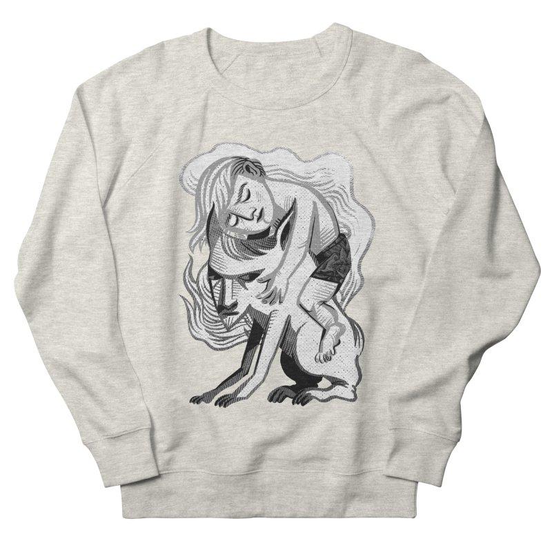 Hug Women's French Terry Sweatshirt by Michael J Hildebrand's Artist Shop