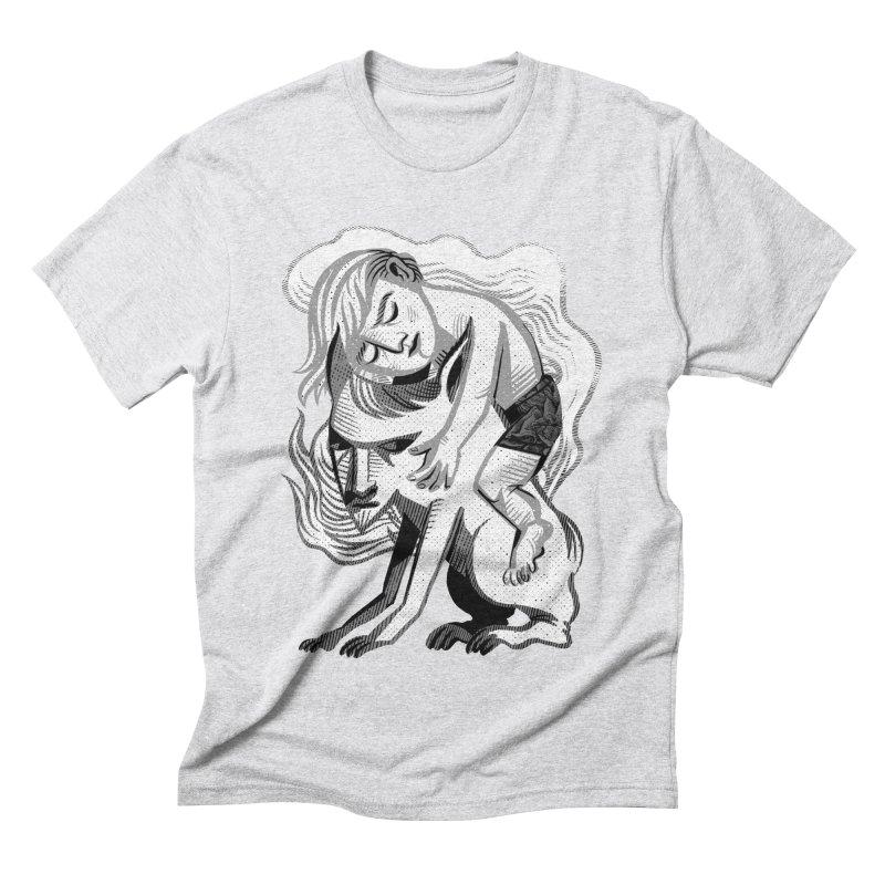Hug Men's Triblend T-Shirt by Michael J Hildebrand's Artist Shop