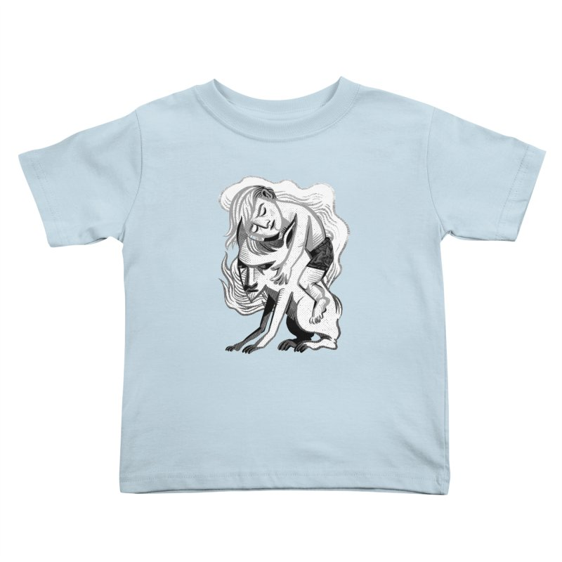 Hug Kids Toddler T-Shirt by Michael J Hildebrand's Artist Shop