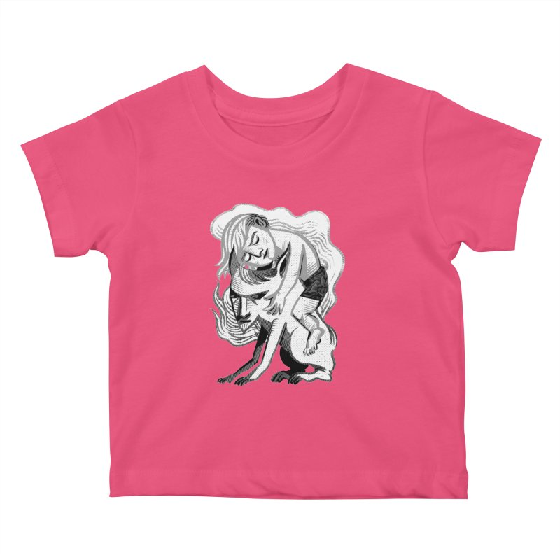 Hug Kids Baby T-Shirt by Michael J Hildebrand's Artist Shop